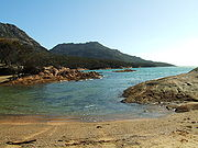 Honeymoon Bay, Freycinet National Park, East Coast of Tasmania