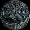Augustus colonia nemausus dupondius type 4 reverse.jpg