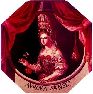 Aurora Sanseverino Italian noblewoman, poet, actress, patron