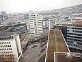 Ausblick vom K1 auf das LBS-Hahn-Hochhaus in Stuttgart, 1963 gebaut, geplant vom Architekten Rolf Gutbrod - panoramio.jpg