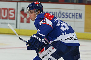 ZSC Lions - The first overall NHL draft pick (2016) Auston Matthews with the ZSC Lions during the 2015–16 regular season
