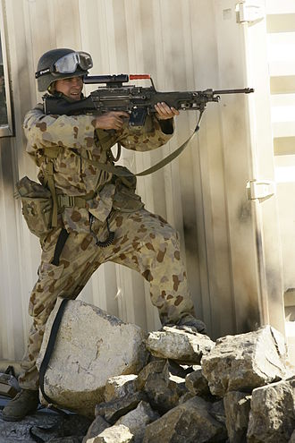5th Battalion, Royal Australian Regiment - A 5 RAR soldier during Exercise Talisman Sabre 2009