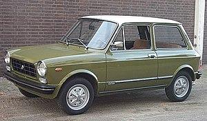 Autobianchi A112 - Image: Autobianchi A112E 1973
