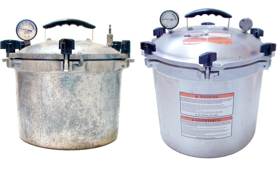 Autoclave stove top