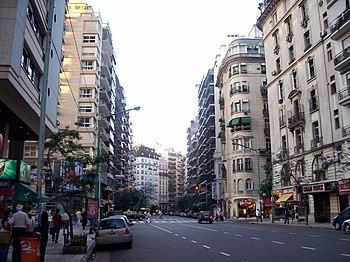 Avenida Callao y Juncal