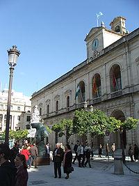 Casa consistorial de Sevilla. Fachada principal