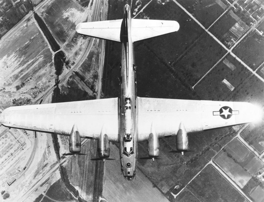 B-17dorsalview