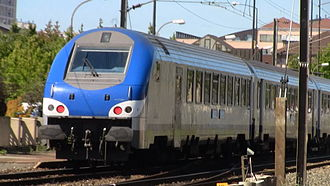 Corail (train) - Corail B5uxh control car