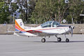 BAE Systems Australia (VH-YCG) Pacific Aerospace Corporation CT-4B Airtrainer taxiing at Wagga Wagga Airport.jpg