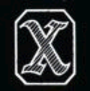 X rating - Image: BBFC X 1951 1970