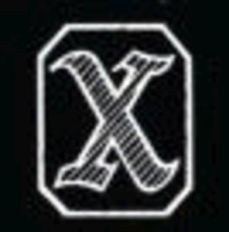 X rating - Image: BBFC X 1951 1970