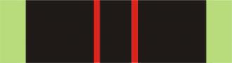 Medal of the Armed Resistance 1940–1945 - Image: BEL Médaille de la Résistance 1940–1945 ribbon