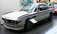 Una BMW 3.0 CSL