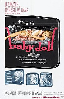 <i>Baby Doll</i> 1956 American black comedy drama film by Elia Kazan