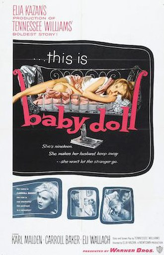Baby Doll - theatrical release poster