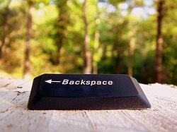 definition of backspace