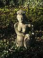 Bad Rappenau - Bonfeld - Oberschloss - Statue im Garten.jpg
