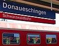 Bahnhof Donaueschingen im Schwarzwald - panoramio.jpg