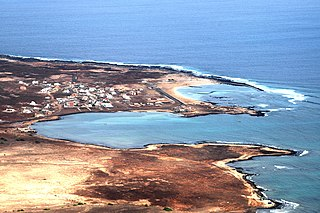 Baía das Gatas Settlement in São Vicente, Cape Verde
