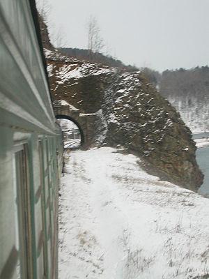 Circum-Baikal Railway - Tunnel on the Circum-Baikal Railway