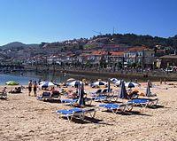 Baiona, Praia da Ribeira