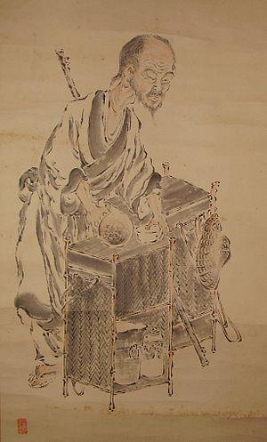 Baisao - Image: Baisao.painting.deta il.01
