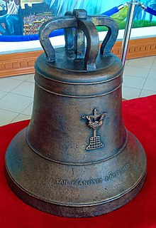 Balangiga bells Church bells that had been taken by the United States Army from the Philippines