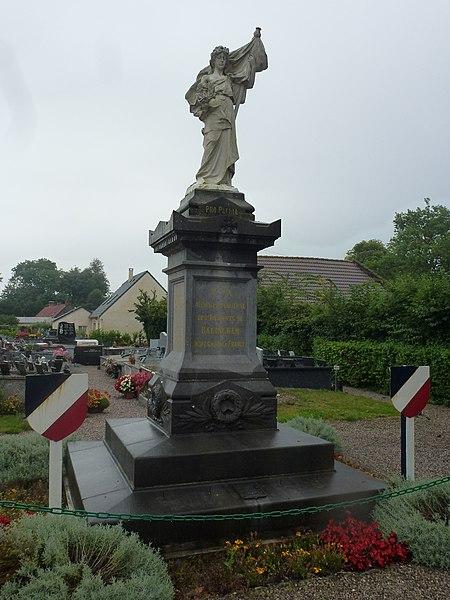 Balinghem (Pas-de-Calais) monument aux morts