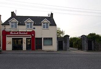Ballysadare - Image: Ballysadare butchers