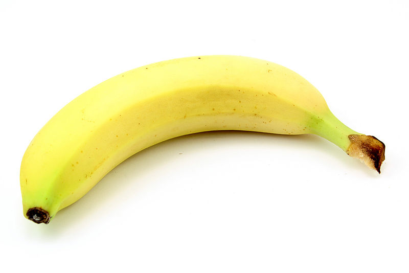 Файл:Banana (white background).jpg