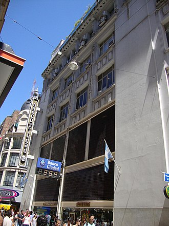 Bank of the City of Buenos Aires - Florida Street headquarters