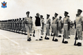 Bangabandhu Sheikh Mujibur Rahman with Bangladesh Air Force personnel (03).png