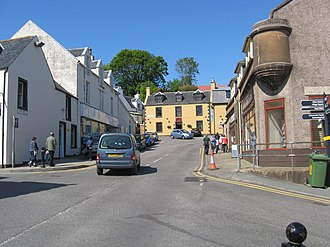 Skye - Bank Street, Portree