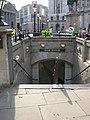 Bank Underground Station entrance - geograph.org.uk - 1292178.jpg