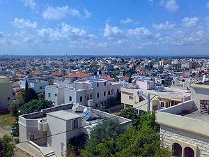 Baqa al-Gharbiyye - Image: Baqa el gharbiya 2007 04 14