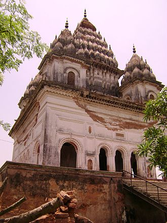 Hinduism in Bangladesh - The Temple at Puthia, Rajshahi