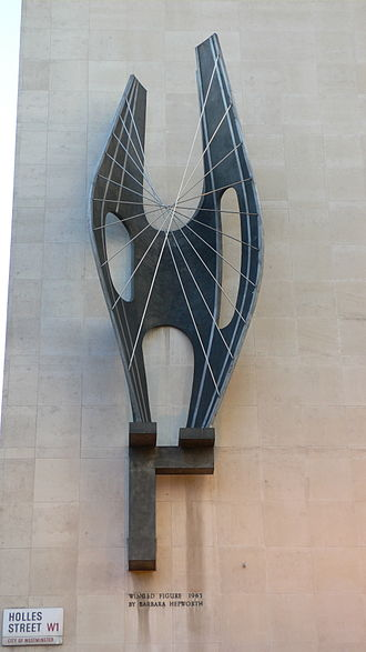 Barbara Hepworth - Image: Barbara Hepworth Winged Figure 1963