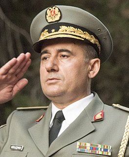 Chief of the Albanian General Staff position in the Albanian Armed Forces