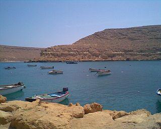 Bardia Town in Cyrenaica, Libya
