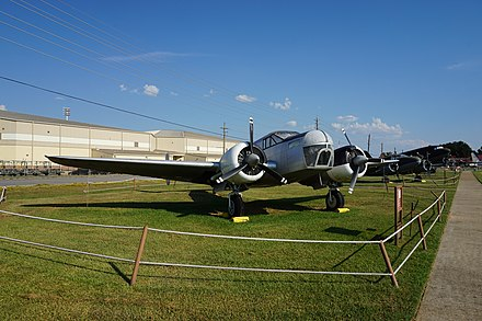 AT-11 at the Barksdale Global Power Museum Barksdale Global Power Museum September 2015 21 (Beechcraft AT-11 Kansan).jpg