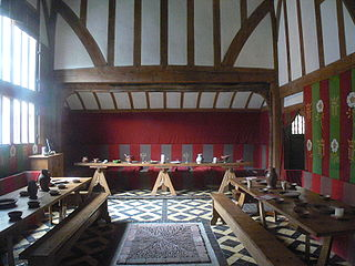 Great hall largest room in a medieval manor