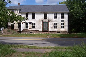 National Register of Historic Places listings in Concord, Massachusetts - Image: Barrettfarmhouse