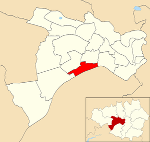 Barton-upon-Irwell - Barton electoral ward within Salford City Council.