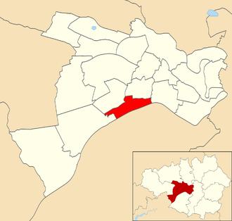 Barton-upon-Irwell - Barton electoral ward within Salford City Council.