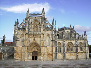 Batalha Monastery is one of the most important Gothic sites in Portugal.