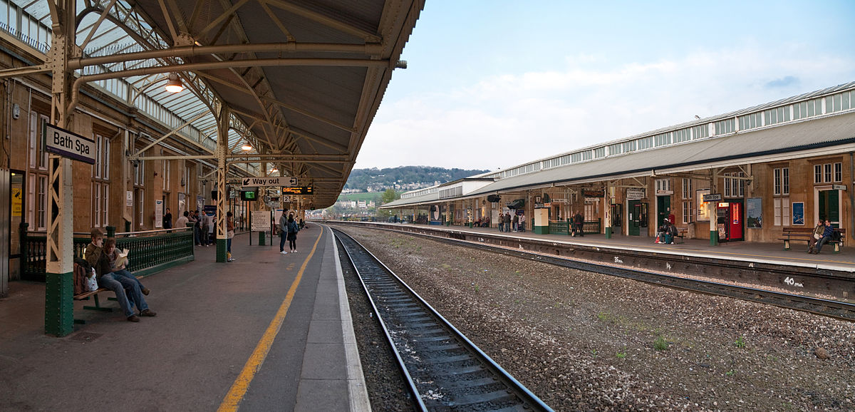 Bath Spa England Train Station