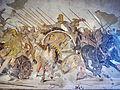 Battaglia di isso, prob. copia di opera del IV sec ac di philoxenos d'eretria, 125-120 ac ca. da casa del fauno a pompei, 10020, 05.JPG