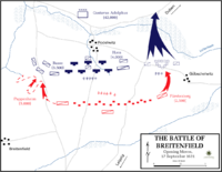 Battle of Breitenfeld - Opening moves, 17 September 1631.png