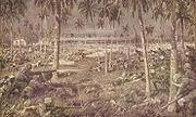 Battle of Tanga, fought between the British and Germans during World War I