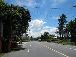 Calamba–Pagsanjan Road two-to-four lane primary highway located in the province of Laguna in the Philippines